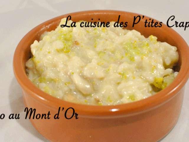 Recettes de mont d 39 or et risotto - Cuisson mont d or au four ...