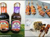 Sauces teriyaki de kikkoman [#barbecue #kikkoman #japon]
