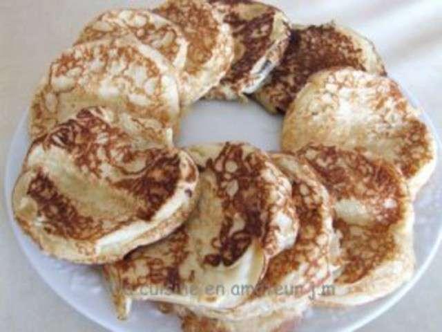 Recettes de pancakes de a z 41 for La cuisine c est marie