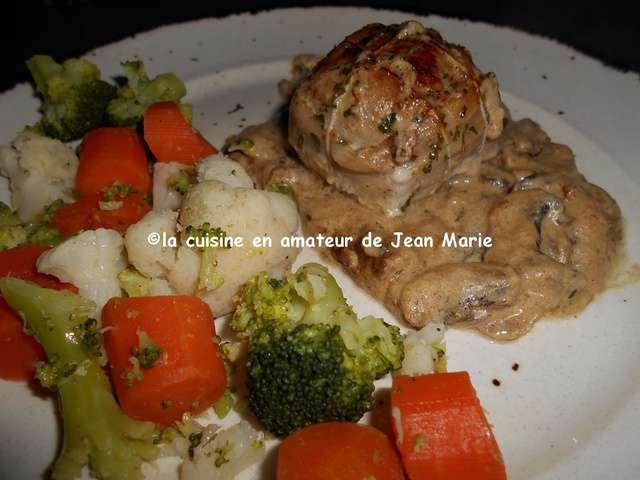 Recettes de paupiettes et cuisine au four - Paupiette de porc recette ...