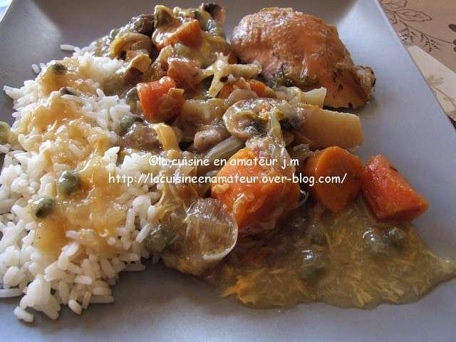Recettes de poule au pot - Cuisine poule au pot ...