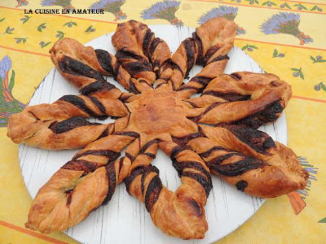 Recettes de feuillete etoile au nutella - Etoile de badiane cuisine ...