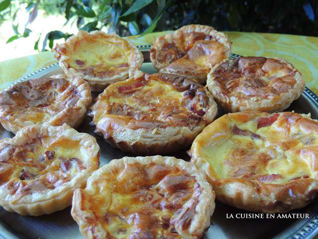 Recettes de mini quiches et cuisine accessible for Cuisine de quiches originales et gourmandes