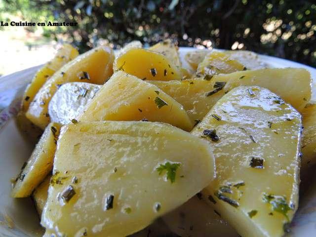 Recettes de cuisine la vapeur et pomme de terre - Pommes de terre a la braise ...