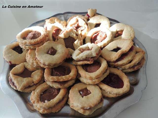 Recettes de sabl s au chocolat et confiture - Cuisine des sables voiron ...