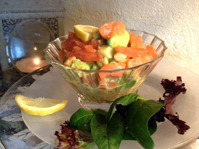 Recettes de f tes et salades - Entree de fete facile et pas cher ...