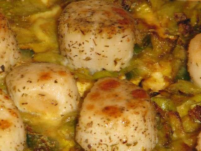 Recettes de repas de f te 22 - Saint jacques au curry ...