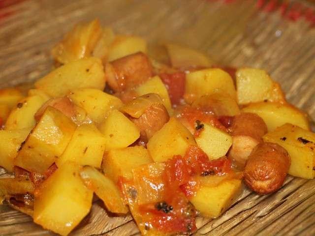 Les meilleures recettes de knackis et pomme de terre - Recette de cuisine a base de pomme de terre ...