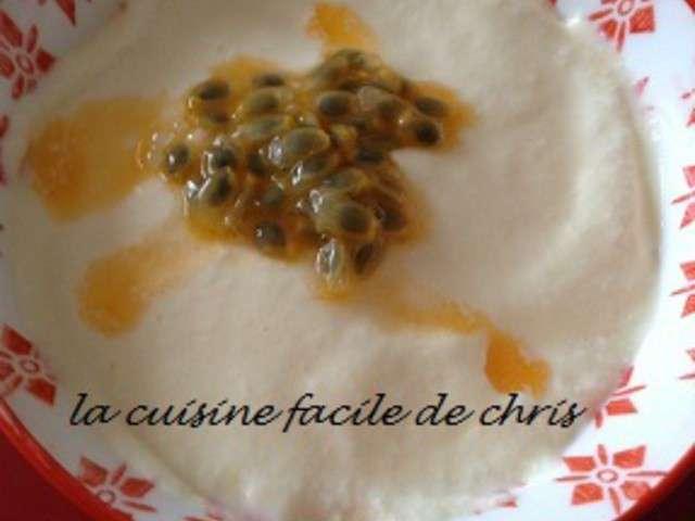 Recettes de fruit de la passion et mascarpone for La cuisine facile