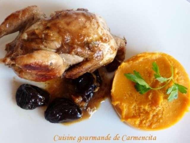 Recettes de cailles de cuisine gourmande de carmencita for Cuisine gourmande
