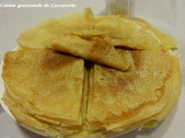 Recettes de cr pes de cuisine gourmande de carmencita - Recette crepe gourmande ...