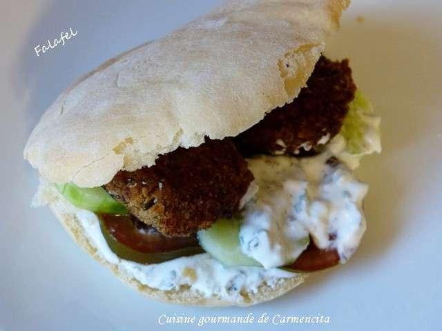 Recettes de falafel de cuisine gourmande de carmencita for Cuisine gourmande
