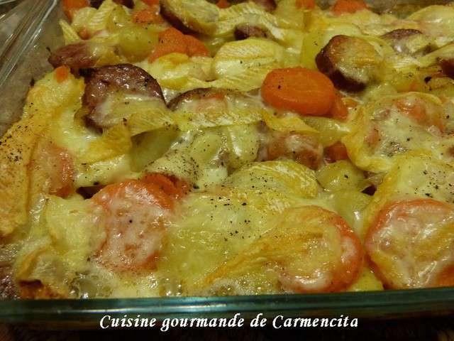 Recettes de reblochon de cuisine gourmande de carmencita for Cuisine gourmande