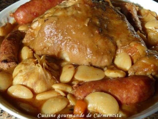 Recettes de jarret de porc et saucisse - Cuisine jarret de porc ...