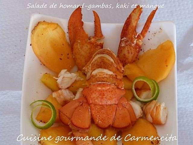 Recettes de kaki de cuisine gourmande de carmencita for Cuisine gourmande
