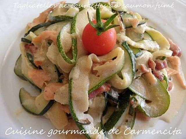 Recettes de tagliatelles de cuisine gourmande de carmencita for Cuisine gourmande