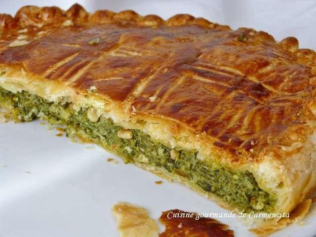Recettes de tourtes de cuisine gourmande de carmencita for Cuisine gourmande