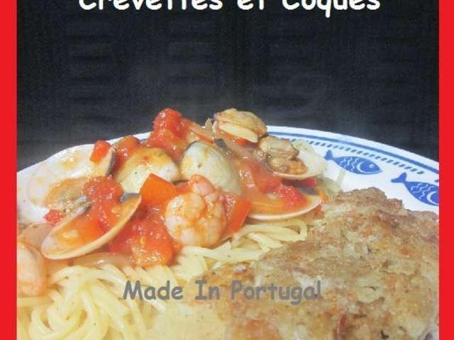 Recettes de palourdes et crevettes for Cuisiner des palourdes