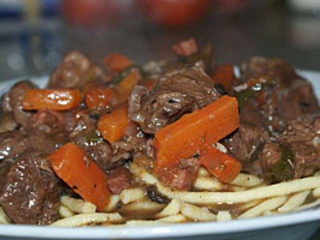 Recettes de b uf de la cuisine quotidienne for Cuisine quotidienne