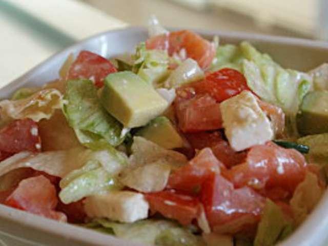 Recettes de salades de la cuisine quotidienne 2 for Cuisine quotidienne