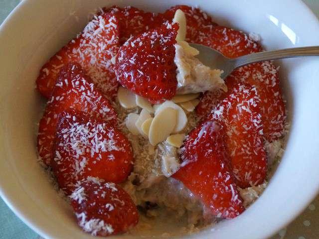 Recettes de fraises de la cuisine quotidienne for Cuisine quotidienne