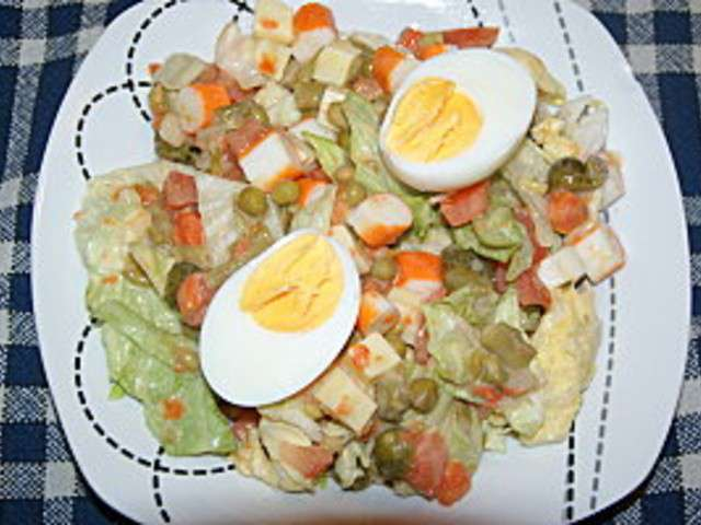 Les meilleures recettes de salades de la cuisine for Cuisine quotidienne
