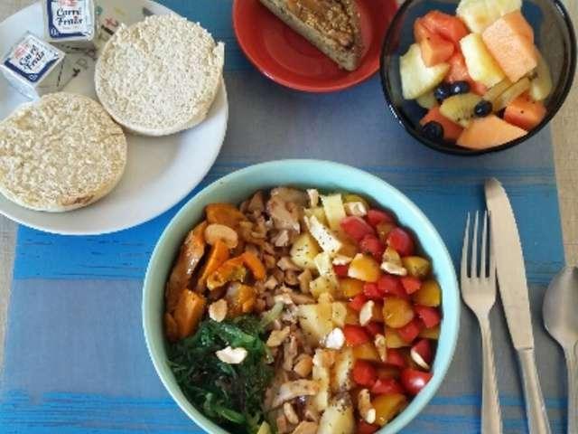 Recettes de salades de la cuisine quotidienne - Recette cuisine quotidienne ...