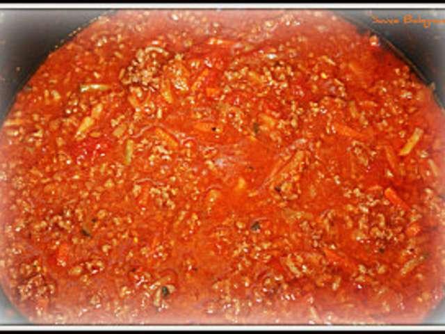 Recettes de sauce bolognaise de la cuisine quotidienne for Cuisine quotidienne