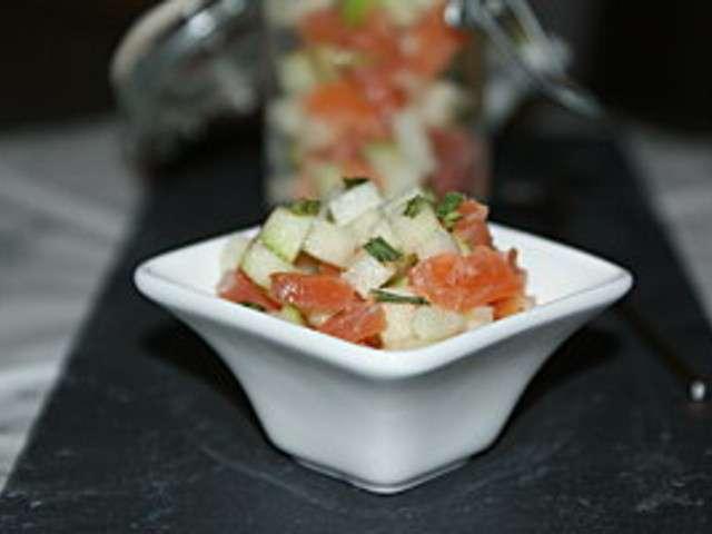Recettes de verrines de la cuisine quotidienne for Cuisine quotidienne