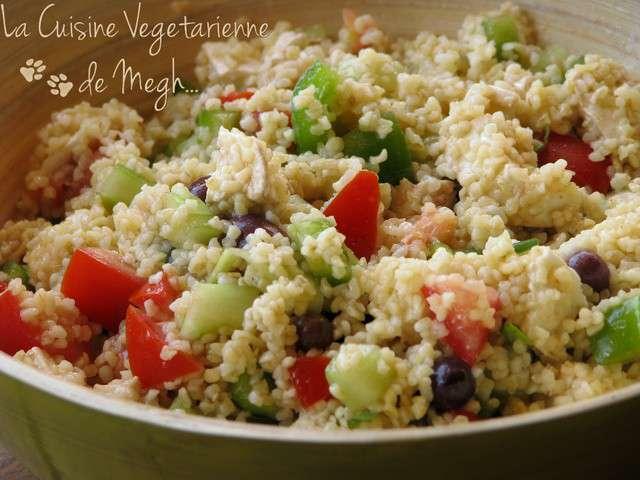 Recettes de taboul de la cuisine v g tarienne de megh for Cuisine vegetarienne