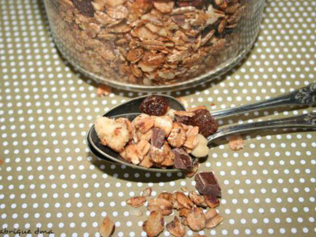 Recettes de granola et d jeuner - Recette petit dejeuner sain ...