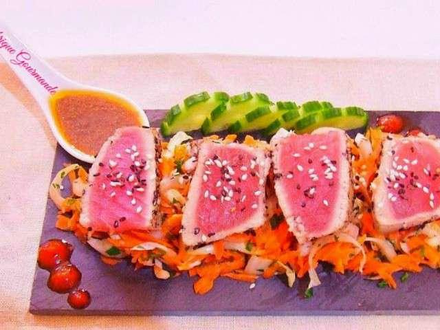 Les Meilleures Recettes De Tataki Et Thon - Cuisiner du thon