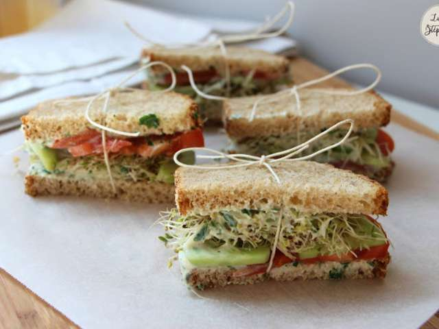 Recettes de sauce blanche et sandwich - Comment faire de la sauce blanche ...