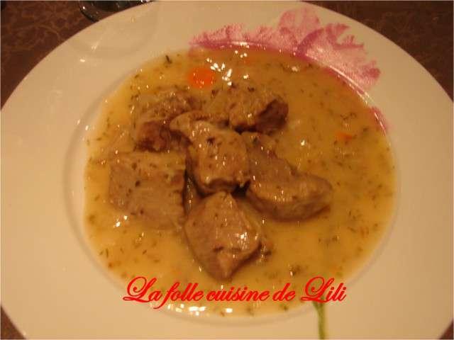 Recettes de blanquette de la folle cuisine de lili - Cuisine blanquette de veau ...