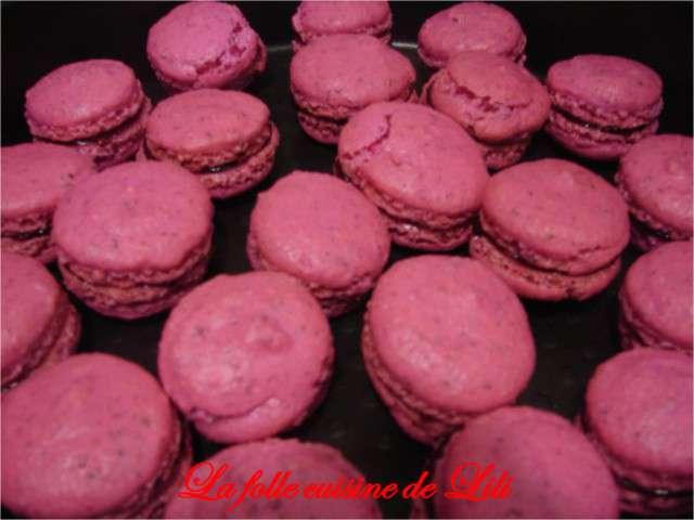 Recettes de macarons de la folle cuisine de lili - La cuisine de lili ...