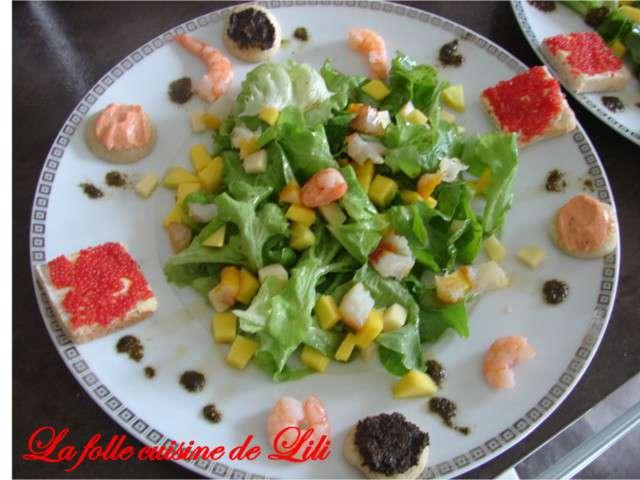 Recettes de salade de mangue de la folle cuisine de lili - La cuisine de lili ...