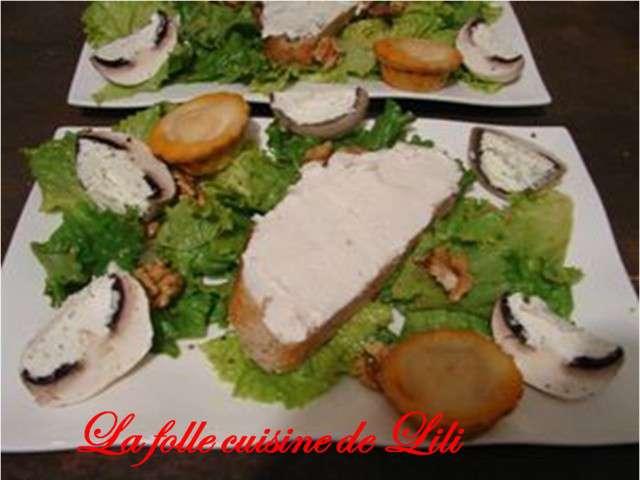 Recettes de salade verte de la folle cuisine de lili - Recette salade verte ...