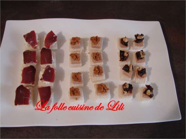 Recettes de toasts et ap ritif 2 - La cuisine de lili ...