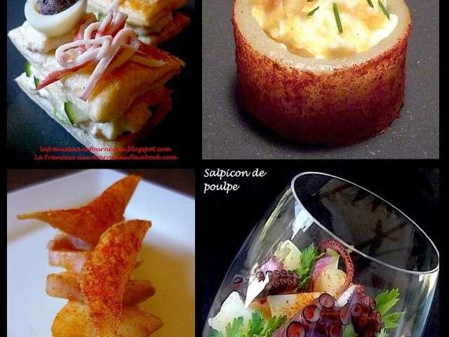 Les meilleures recettes de tapas de la francesa aux fourneaux Tapas francesas