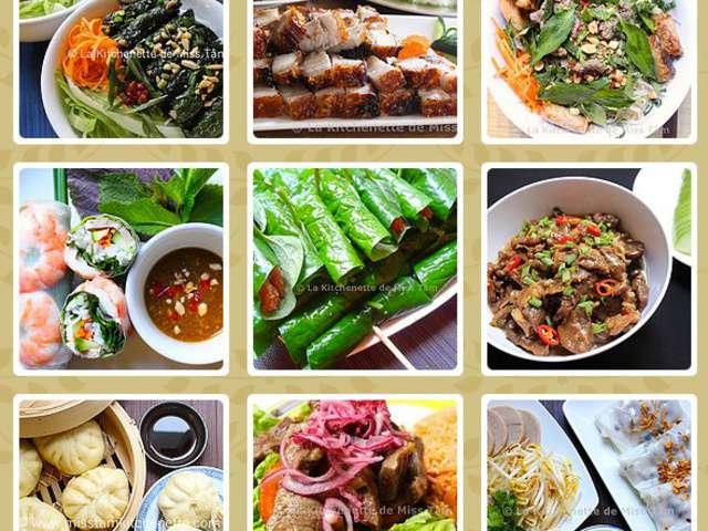 Recettes de la kitchenette de miss t m - Cours de cuisine vietnamienne ...