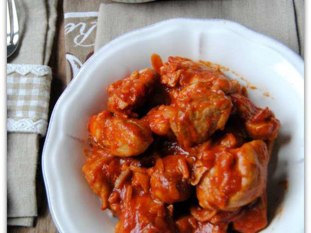 Recettes de saut de porc la tomate - Cuisiner un saute de porc ...