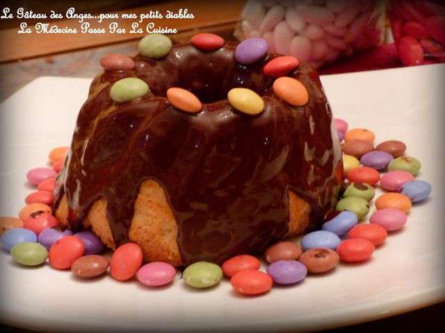 Recettes de g teau des anges et chocolat - La medecine passe par la cuisine ...