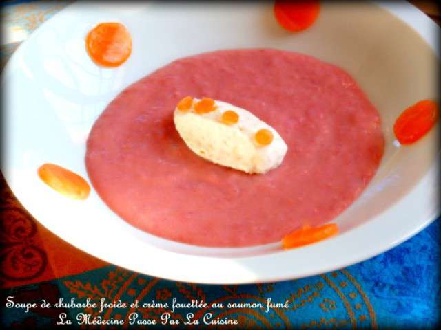 Recettes de cr me fouett e et rhubarbe - La medecine passe par la cuisine ...