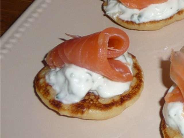 Recettes de saumon fum de a z for La cuisine de a a z