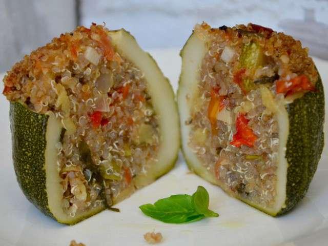 Recettes de courgettes farcies et quinoa for Cuisine quinoa