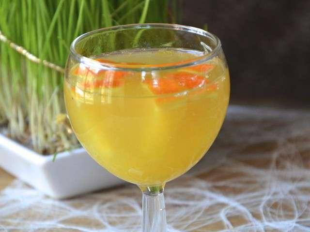 champagne vin blanc citron