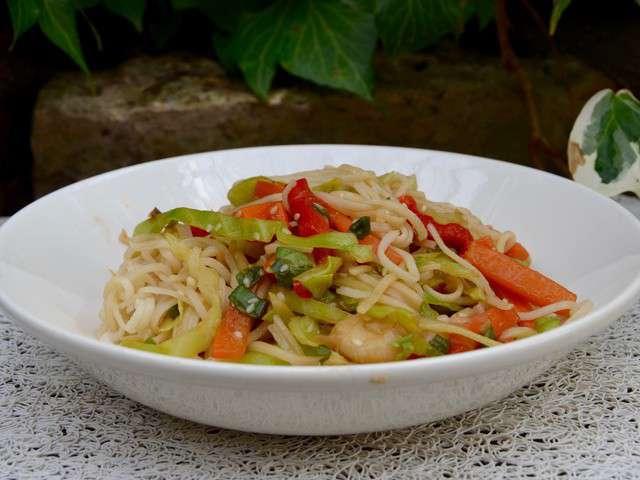 Recettes de nouilles de la p 39 tite cuisine de pauline - Blog recette de cuisine asiatique ...