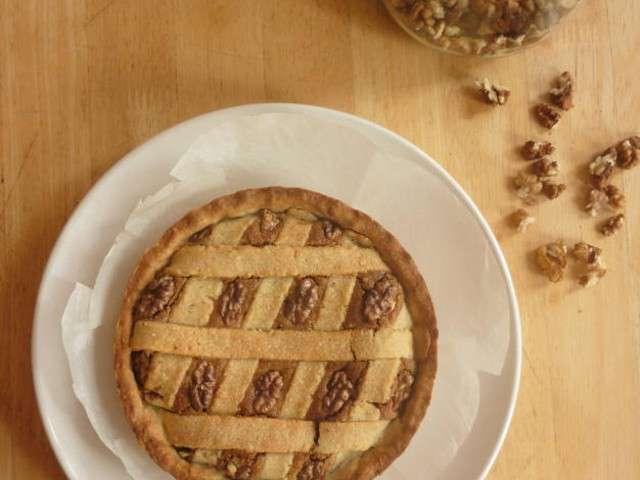 Recettes de tarte aux noix de la petite cuisine d 39 eva - Blog cuisine etudiante ...