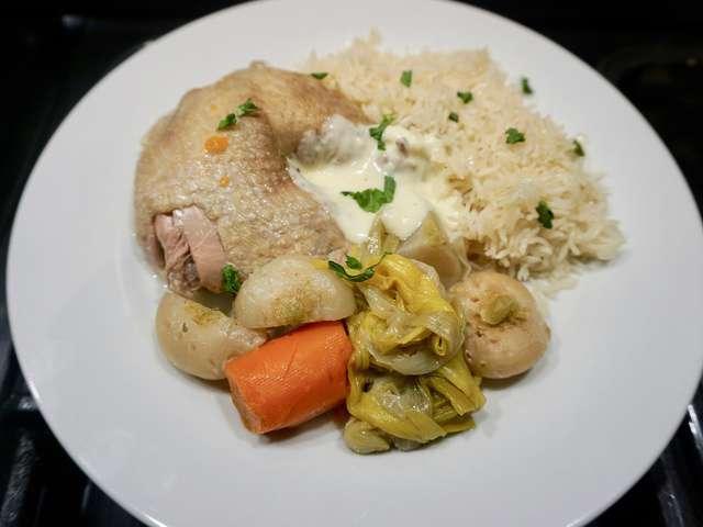 Recettes de sauce poulette - Cuisine poule au pot ...