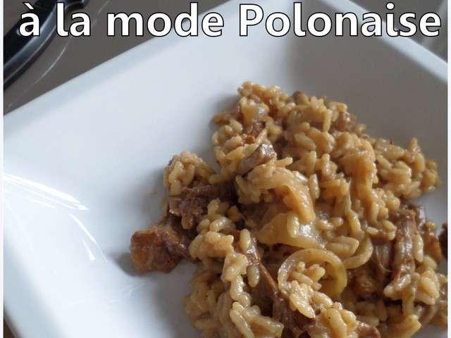 Recettes de risotto de la petite cuisine de sabine for Cuisine a la mode